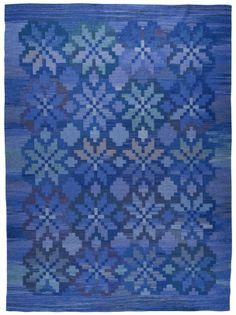 Anonymous; Flat Weave Wool Rug, 1950s/60s.
