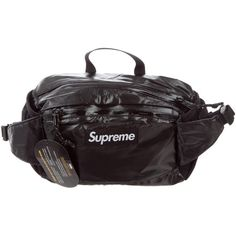 fdf5b201a08f Pre-owned Supreme 2017 Box Logo Waist Bag ( 375) ❤ liked on Polyvore  featuring men s fashion