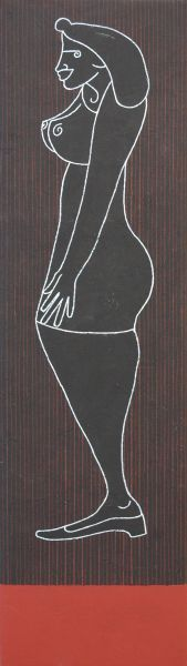 Contrappunto-B by Giovanni Maranghi (b1955; Lastra a Signa, near Florence) http://www.firenzeart.it/opera.php?id=661