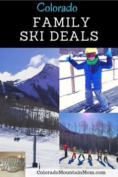 It's looking like will be a great ski season in Colorado! Here's a roundup of Colorado Ski Deals for families, including kids ski free. Colorado Ski Resorts, Best Ski Resorts, Park Resorts, Travel Tours, Free Travel, Travel Ideas, Colorado Winter, Skiing Colorado, Ski Deals