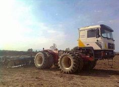 A different spin on a farm truck. - Looks like a home-made custom but very neat..
