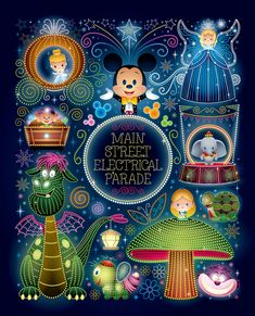 """Ladies and Gentlemen, boys and girls! """"Nighttime Magic"""" - Available Saturday, March 4th at WonderGround Gallery located in the Downtown Disney® District at the Disneyland® Resort (Anaheim, CA). I'll be at the gallery from 11am - 1pm. Come say hello...."""