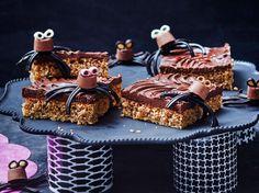 Unser beliebtes Rezept für Süße Spinnen auf Nusskuchen mit Schoko und mehr als 55.000 weitere kostenlose Rezepte auf LECKER.de.