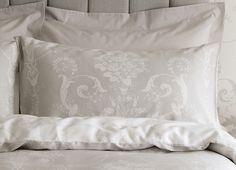 Josette Cotton Pillowcase, Dove Grey, for Loft Conversion Bedroom. Shabby Bedroom, Dream Bedroom, Home Decor Bedroom, Master Bedroom, Bedroom Ideas, Bedroom Inspiration, Interior Inspiration, Loft Conversion Bedroom, Childrens Room Decor