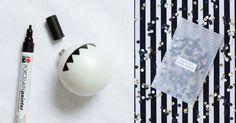 Een witte en zwarte kerst