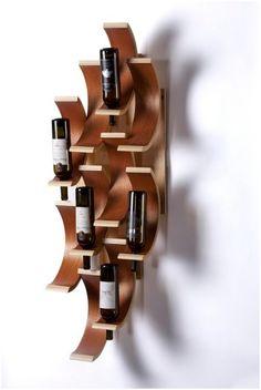7 lindos suportes para garrafas de vinho