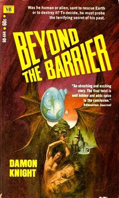 Damon Knight, Beyond The Barrier  #DamonKnight  #SciFi