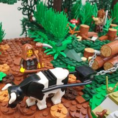 Harvest Time in Zamorah Lego Pics, Lego Pictures, Lego Storage Brick, Lego Creative, Lego Boards, Lego Modular, Lego Castle, Awesome Lego, Cool Lego Creations
