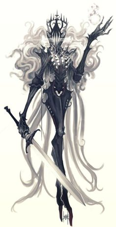 Phantasmic effigy of light by xluxifer Character Design Inspiration (scheduled . Fantasy Character Design, Character Design Inspiration, Character Art, Character Concept, Monster Concept Art, Monster Art, Female Monster, Fantasy Creatures, Mythical Creatures
