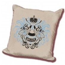 Basic Couture - Square Throw Pillow - Queen Bee