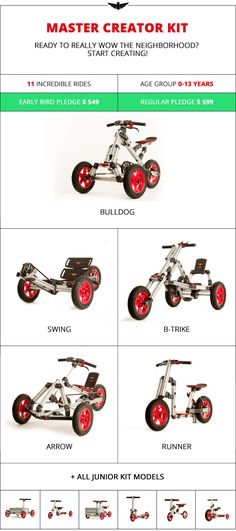 Infento: World's First Real Constructible Rides by Infento Rides — Kickstarter