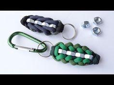 Paracord Bracelet Instructions, Paracord Bracelet Designs, Paracord Tutorial, Macrame Bracelet Tutorial, Paracord Keychain, Paracord Bracelets, Nut Bracelet, Diy Leather Bracelet, Bracelet Crafts