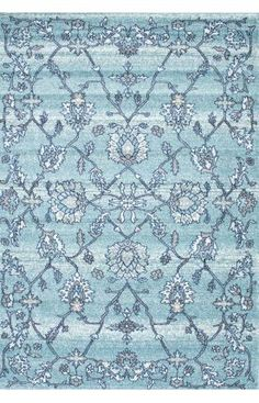 $5 Off when you share! Rugs USA Bosphorus BD02 Aqua Rug