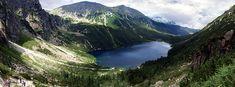 Morskie Oko(Marine Eye), deepest lake in the Tatra Mountains, Poland