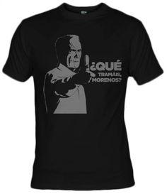 Camiseta Morenos Clint Eastwood, que tramais morenos, gran torino, Fanisetas.com, por Mos Eisly