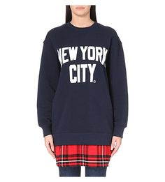 CHOCOOLATE I.T NYC jersey sweatshirt (Navy