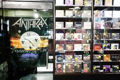 Harboring heavy metal, hard rock and extreme metal music not only as CDs but also good old Vinyl LPs, this store walks right off the charts.