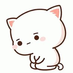Les Behinds the Scenes de Our Omega Leadernim! Cute Couple Cartoon, Cute Cartoon Pictures, Cute Images, Illustration Kawaii, Illustration Mignonne, Chat Kawaii, Kawaii Cat, Cute Bear Drawings, Kawaii Drawings