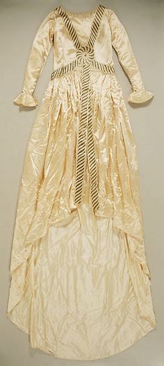 Wedding dress Design House: House of Lanvin (French, founded 1889) Designer: Jeanne Lanvin (French, 1867–1946) Date: fall/winter 1926–27 Culture: French Medium: silk