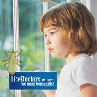 Natural light is the best light to use when checking for lice.
