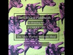Check out all the fun, quirky gift items available at the Andy Warhol Museum Shop in downtown Pittsburgh! Andy Warhol Museum, Museum Shop, Pittsburgh, Contemporary Art, Unique Gifts, Youtube, Travel, Viajes, Trips
