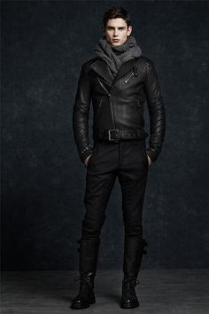 black never gets old | biker jacket