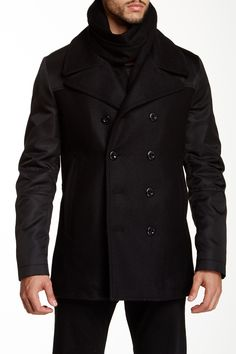 Tiger of Sweden Majors Notch Collar Wool Blend Jacket by Tiger of Sweden on @HauteLook