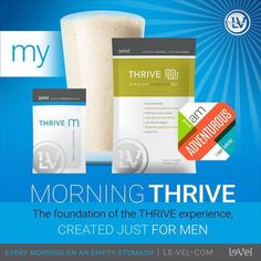 """""""You're not really tired you just lack premium nutrition"""" - Jason Camper  Did you know that Thrive is easy as 1-2-3?? Literally that is ALL it is!  1. Two capsules as soon as you wake on an empty stomach  2. 20-40min later drink the lifestyle mix 3. Immediately after put on the Dft.  Thats it!!  Who doesn't like when things are easy? Why not make the decision to take better care of yourself in the simplest way possible!"""