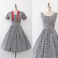 NEW | 1950s rococo sun dress and jacket set! {34-23/24-open} from my personal closet!