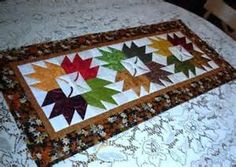 rose pattern blocks for quilt table runner - Bing Images
