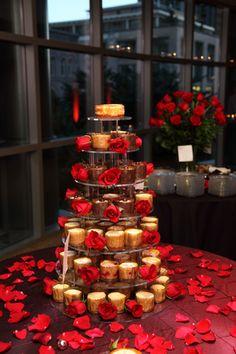 cheesecakes at wedding receptions beautiful display Grooms Table, Wedding Desserts, Wedding Receptions, Bridal Flowers, Cheesecakes, Real Weddings, Wedding Ideas, Display, Table Decorations