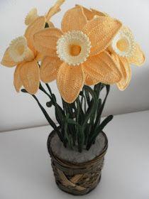 Il Blog di Sam: How to corchet a Daffodil(Narcissus)