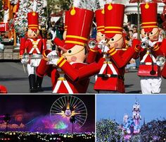 """Jolly new experiences – including the all-new nighttime spectacular, """"World of Color - Season of Light,"""" and Festival of Holidays – are coming to the Happiest Place on Earth when Holidays at the Disneyland Resort returns Nov. 10 – Jan. 8! For more info, contact me at Our Laughing Place Travel.  tracee@olptravel.com"""