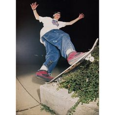 ob Dyrdek in 1992, and one of the most 'Everthing about this one' ones ever. The shirt, Rob's mantis board, the cut-down Cabs with the