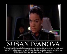 Babylon 5 -- Ivanova was probably my favorite character on this great show