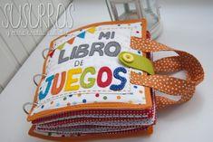 Dsc_0439 Sensory Book, Quiet Book Patterns, Pre K Activities, Felt Quiet Books, Ideas Para Fiestas, Busy Book, Crochet Videos, Happy Baby, Diy And Crafts