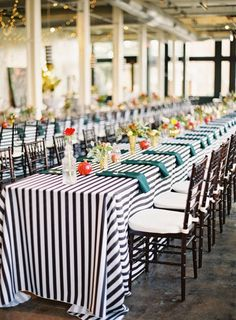 Beau Off 20 Black And White Striped Tablecloth, 1 Inch Stripe Gatsby Glam  Weddings, Bridal Shower, Dinner Party, Wholesale Striped Linens