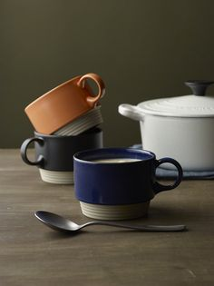 mug for all  Daily components of the relaxed contemporary lifestyle, our ceramic mug collection features simple, functional and fun-to-use shapes applied with Y