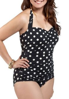 This is the cutest swimsuit! Unlike me to even look at swimsuits... but I am tired of my ugly one :(