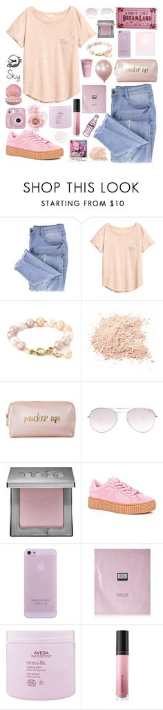 """""""s k y"""" by skyl19 ❤ liked on Polyvore featuring Essie, Neiman Marcus, Tom Ford, Urban Decay, Cape Robbin, Erno Laszlo, Aveda, Bare Escentuals and Fujifilm"""