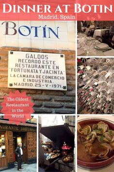 Dinner At Botin - The Oldest Restaurant in the World by Emma Eats & Explores