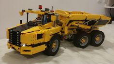 Lego technic Hauler . Model by designer Han. Fully remote controlled