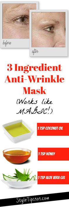 Homemade Anti-Wrinkl