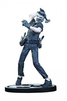 Batman Black and White Joker - Statue