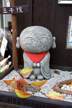 Buddha meets stone meets japanimation!