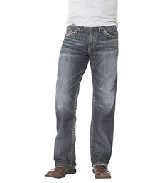 AG Adriano Goldschmied Mens The Matchbox Slim Straight Fit Jeans In AlphaAlpha29 >>> More info could be found at the image url.