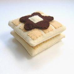 Felt Food Toaster PDF Pattern Toaster Bagel Cream