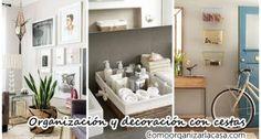 Descubre las mejores 32 ideas para decorar y organizar con cestas