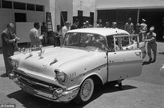 The car in which Dominican dictator Rafael Trujillo was ambushed