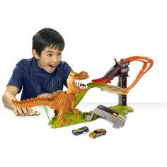 HOT WHEELS® T-REX TAKEDOWN™ Track Set - Shop.Mattel.com  #savethebunnyGP